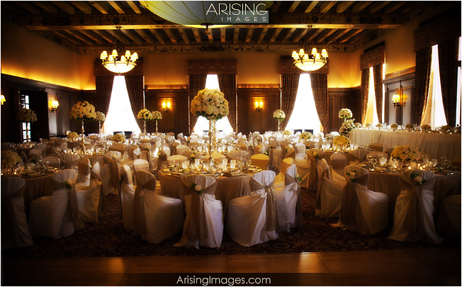 Everything looked spectacular from the decor to the table settings