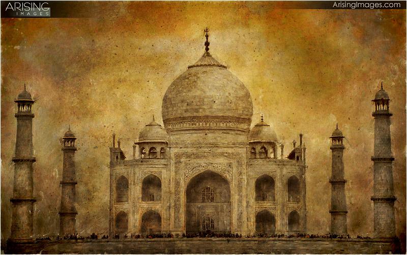 Taj Mahal Painting - Arising Images