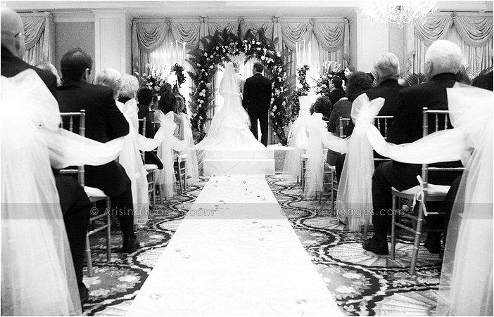 indoor michigan wedding