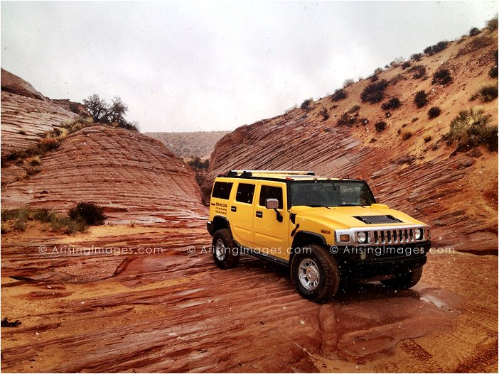 hummer adventures in page, az