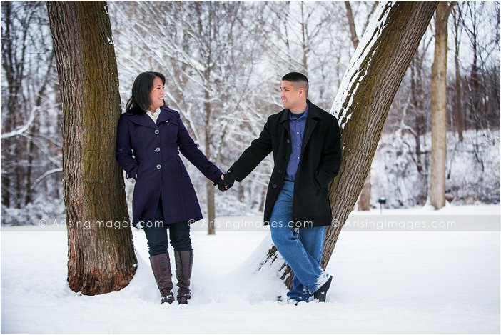 southeast Michigan engagement photography