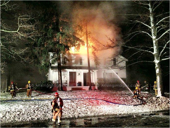 farmhouse fire