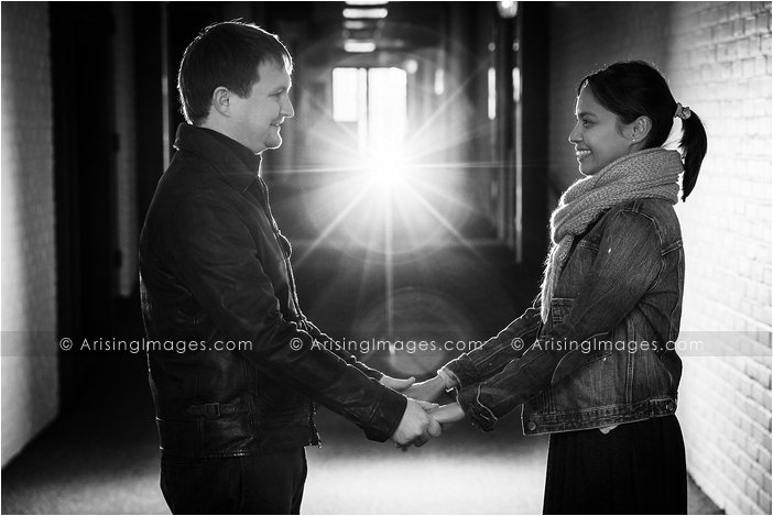 Metro Detroit engagement photographer