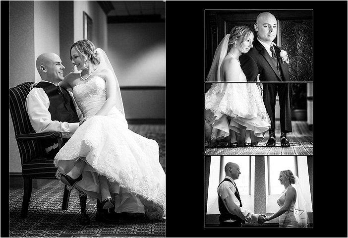 Wedding Pictures taken at the Inn at St John