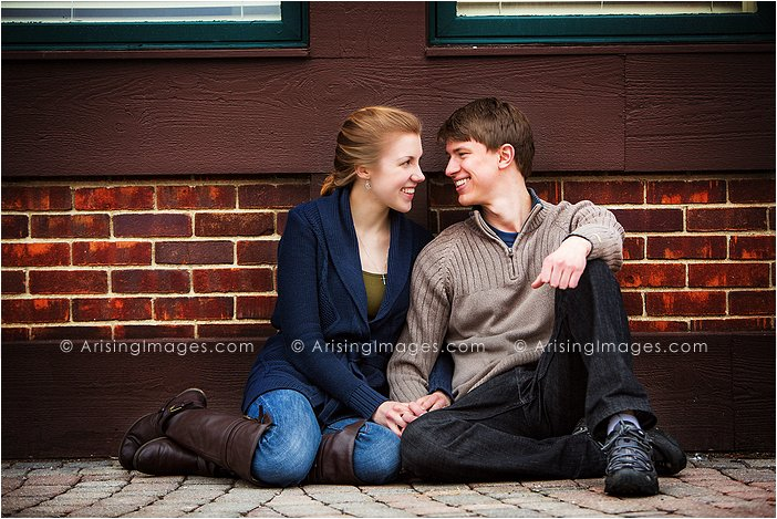 Downtown Rochester Engagement