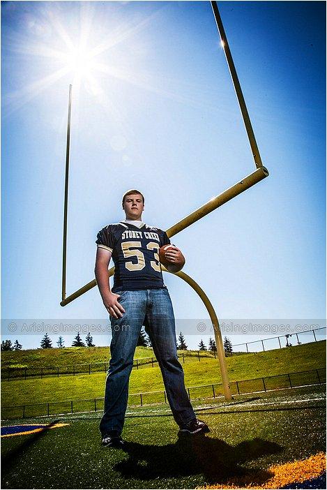 high school senior sports photos in michigan