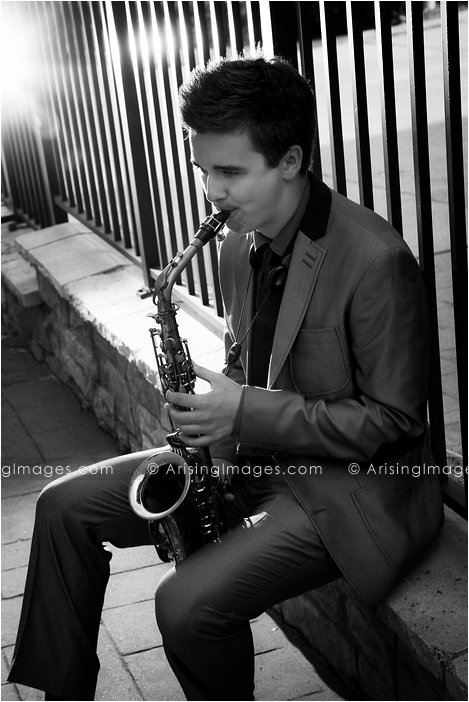 sterling heights senior pictures musician