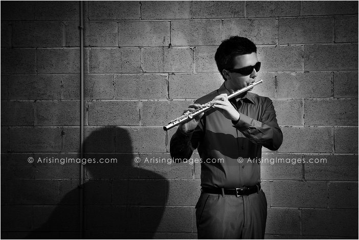 musican senior pictures in michigan