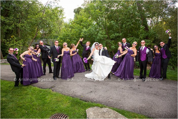 best bridal party photos in michigan