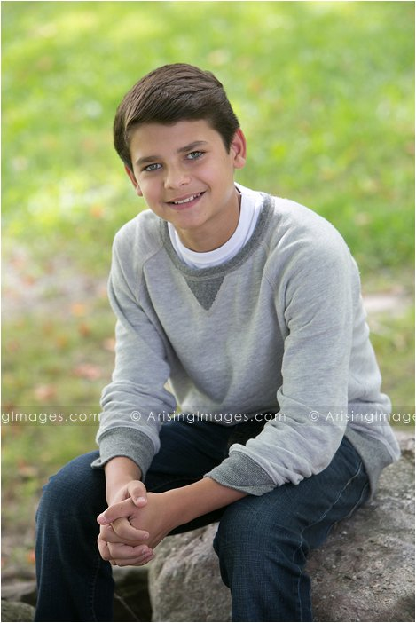 best kid portrait photographer in michigan