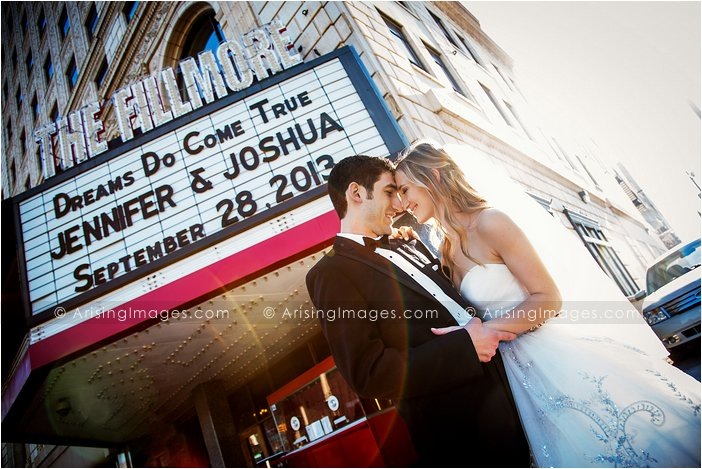 best wedding photography at the fillmore detroit