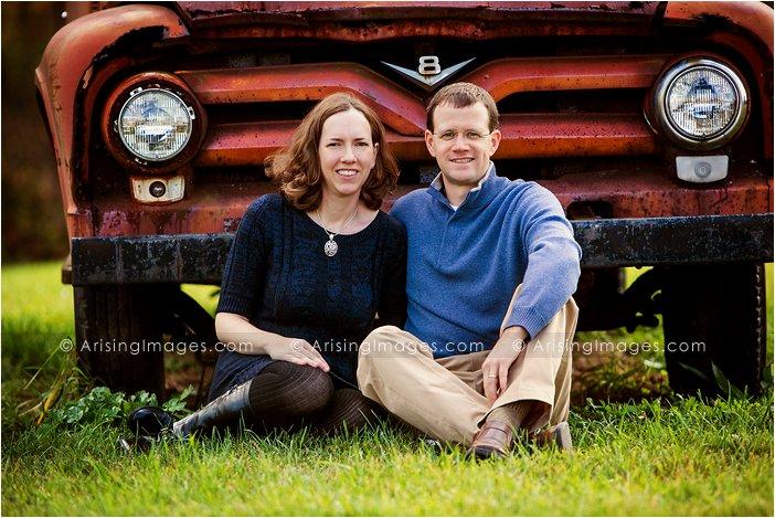 beautiful fall family photos in michigan