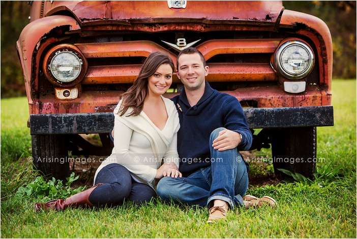 best fall engagement photos in michigan