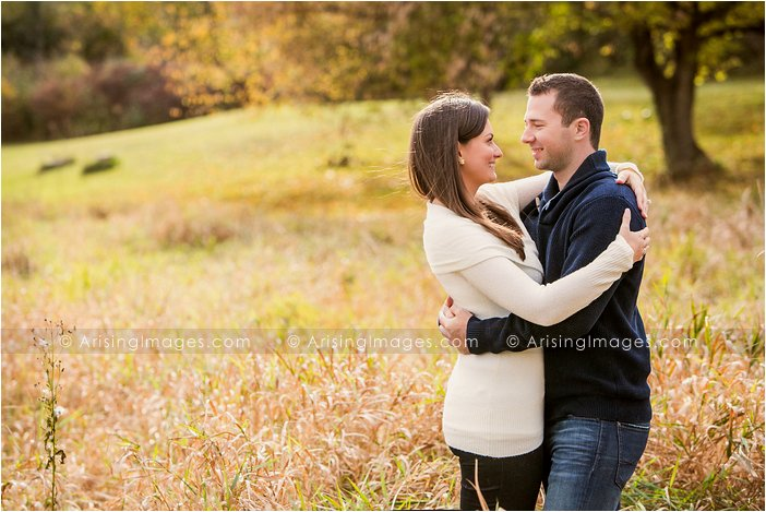 best engagement pics on michigan farm