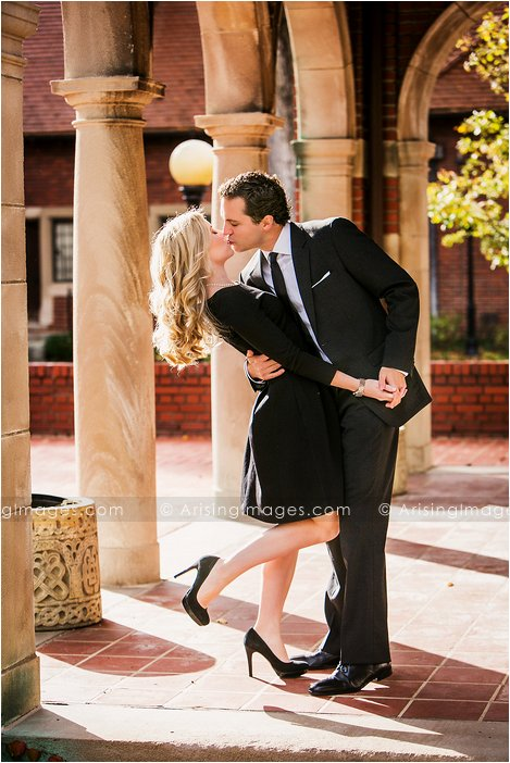 best michigan engagement photos at cranbrook