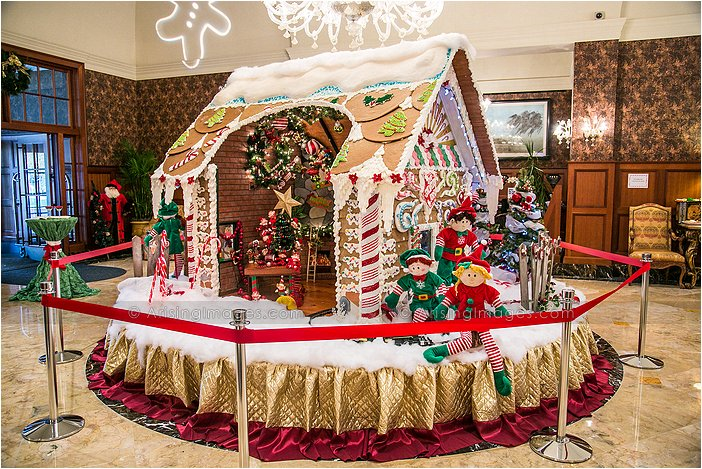 royal park gingerbread house