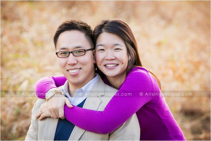 beautiful engagement portraits in michigan