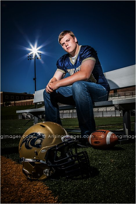 coolest high school senior football photography
