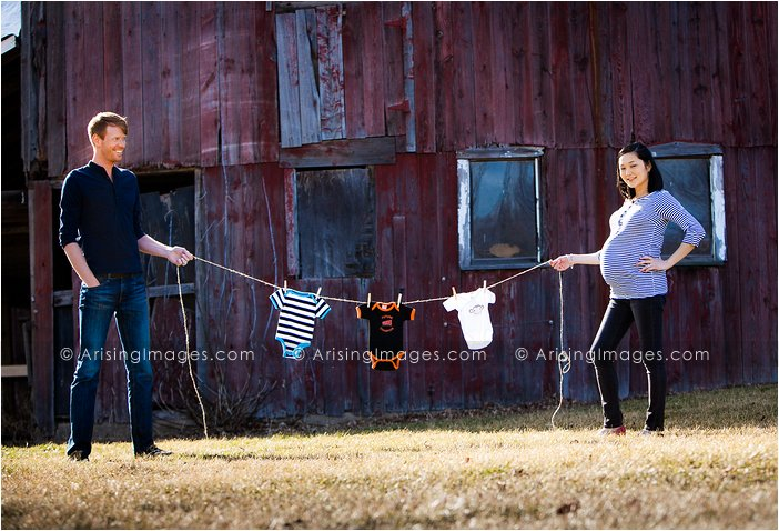 adorable maternity photos in michigan