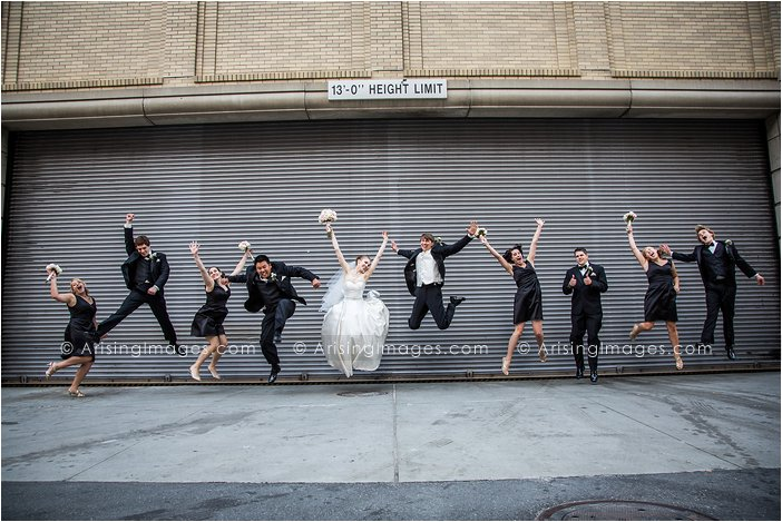 best bridal party photo in michigan