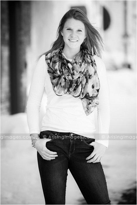 cute senior pics downtown lake orion