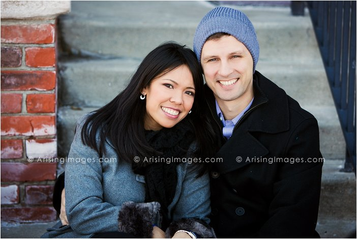 michigan winter engagement photographer