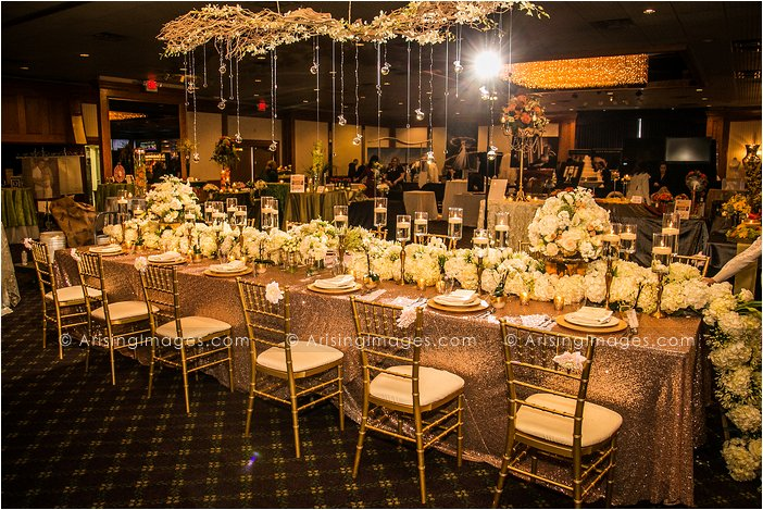 Viviano wedding florist decor