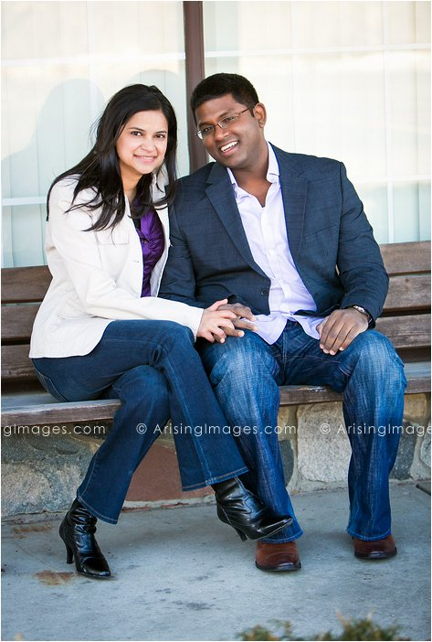 engagement photography in downtown rochester michigan
