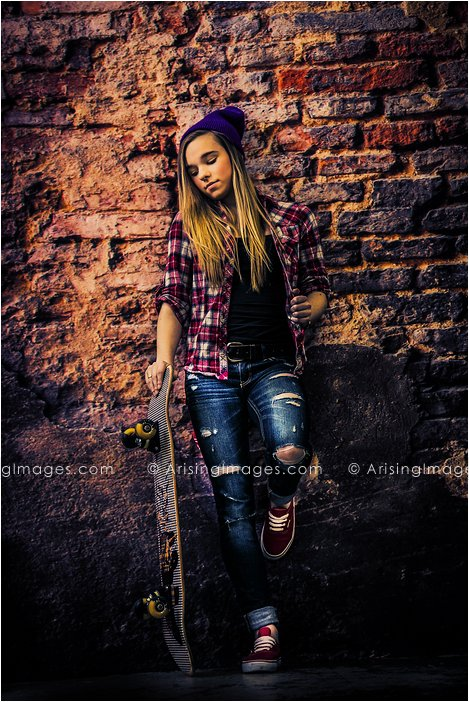 skateboarder michigan senior pictures