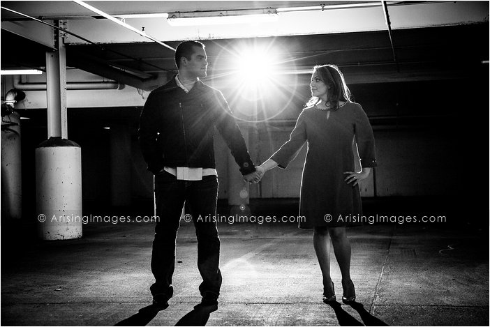 cool michigan engagement photography