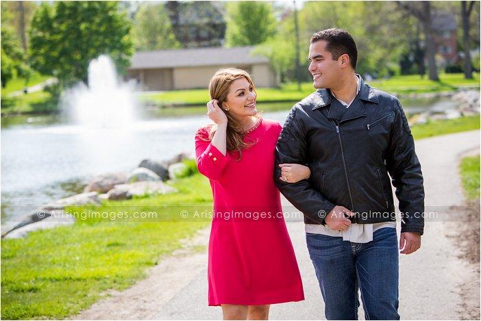 beautiful engagement pics rochester michigan