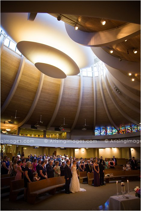 st andrew catholic church wedding photography