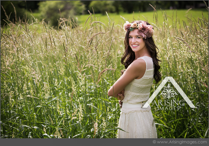 michigan farm senior pictures