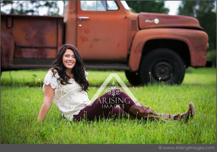 michigan farm senior pictures