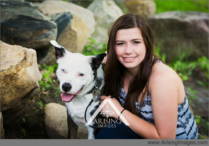 michigan senior pictures with your dog