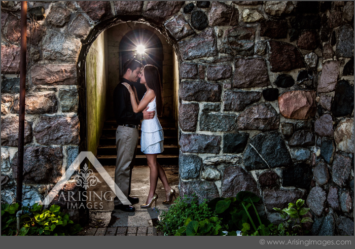 cranbrook house and gardens engagement photos