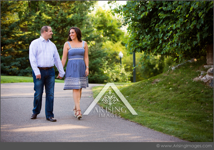 downtown rochester engagement pictures