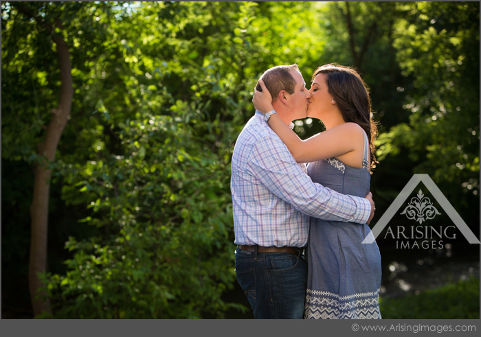 cute rochester engagement photography