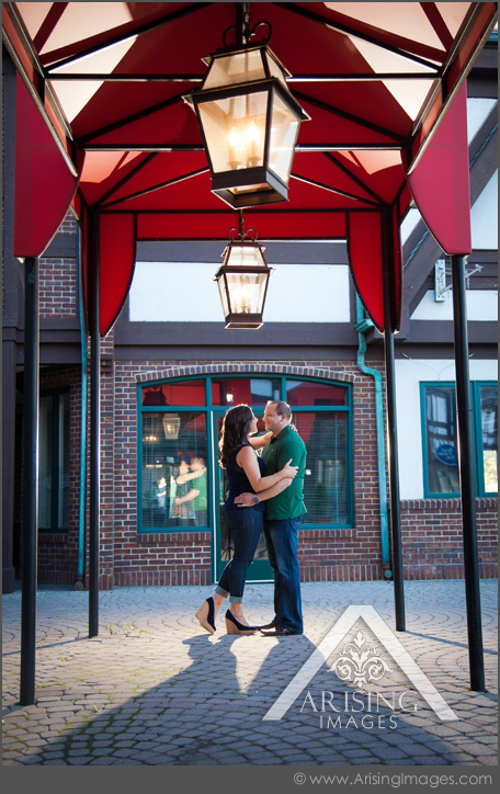 fun engagement pics in downtown rochester