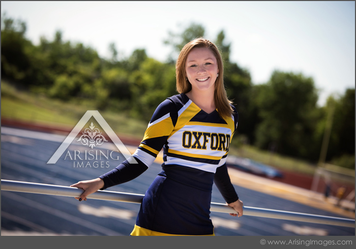 cool michigan cheerleading senior pictures
