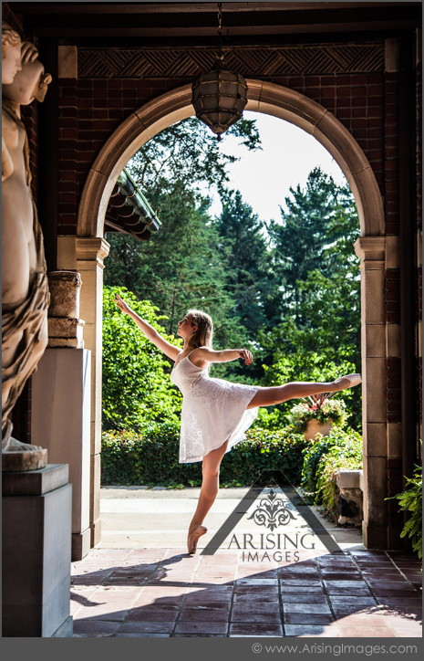 dancer senior pictures in birmingham michigan