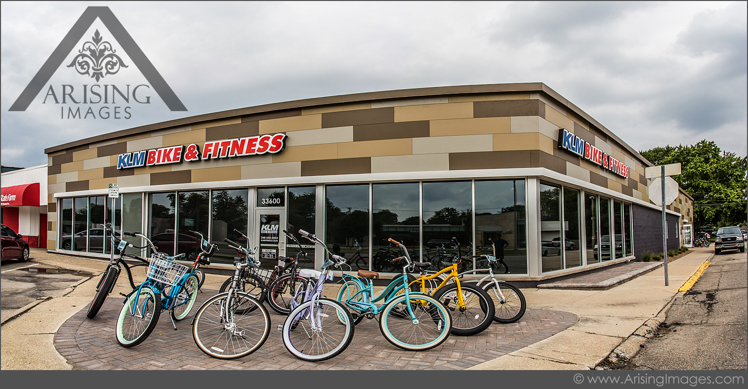 michigan business photography klm bike shop