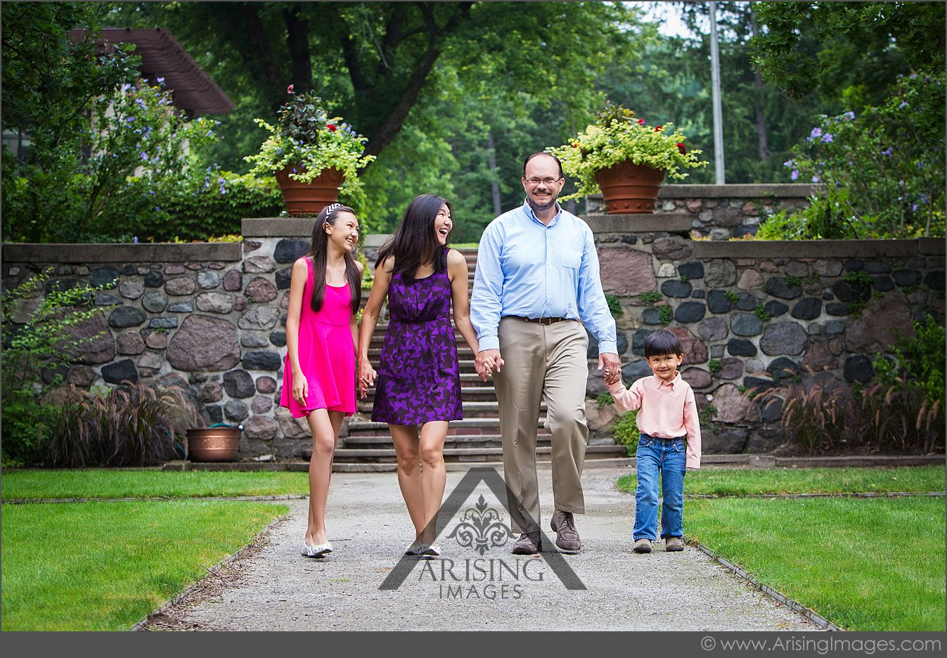 michigan family pictures at cranbrook