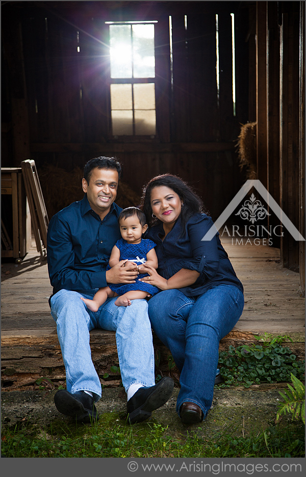 michigan family photos on a farm