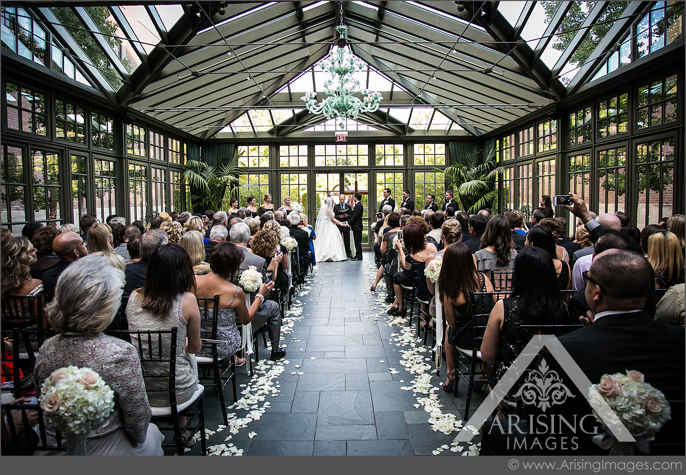 Wedding In The Royal Park Hotel Conservatory