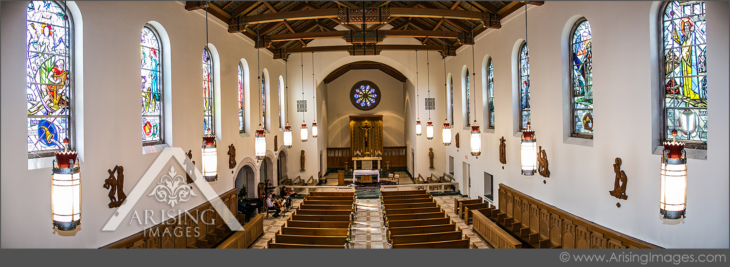 academy of sacred heart chapel wedding