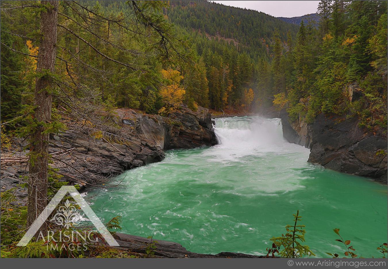 Rearguard Falls, Jasper National Park
