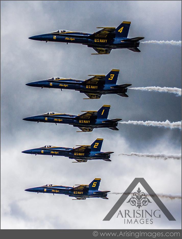 the blue angels stunts