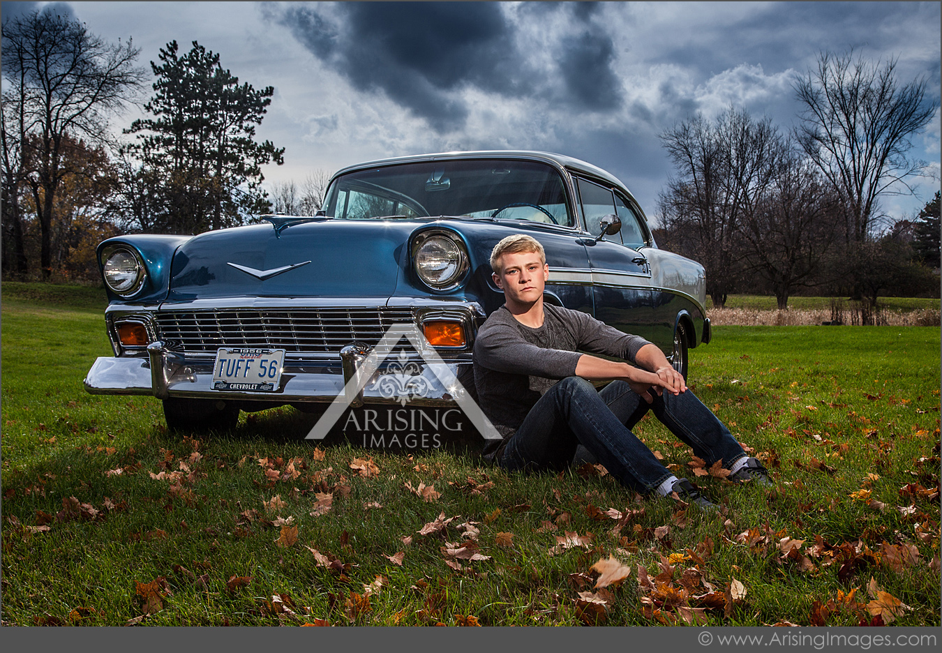 michigan senior pictures with your car