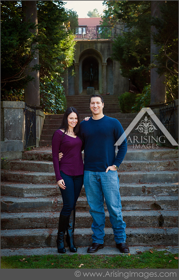 engagement pictures at cranbrook